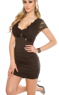 Forever Sexy - K8995 Sexy Dress With Lace