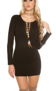 Forever Sexy - KO-1519OS Sexy Sweater Dress