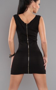 Forever Sexy - H-988 Sexy Mini Dress with Back Zipper