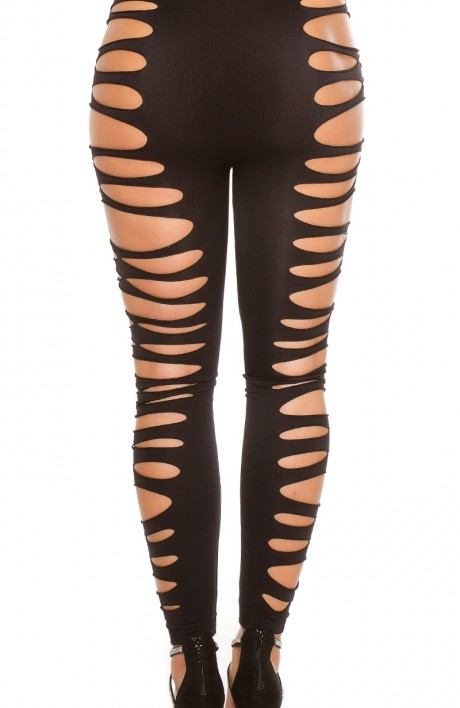 Sexy leggings with cutouts