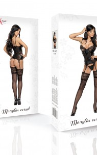 Beauty Night Fashion - Marilyn Peek-a-boo Corset