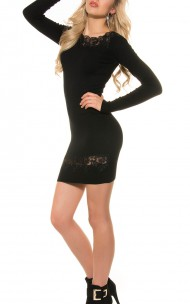 Forever Sexy - ISF8667 Sexy Sweater Dress