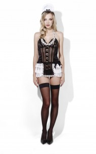 Fever - 45306 Maid At Your Service Dress, Apron & Headpiece