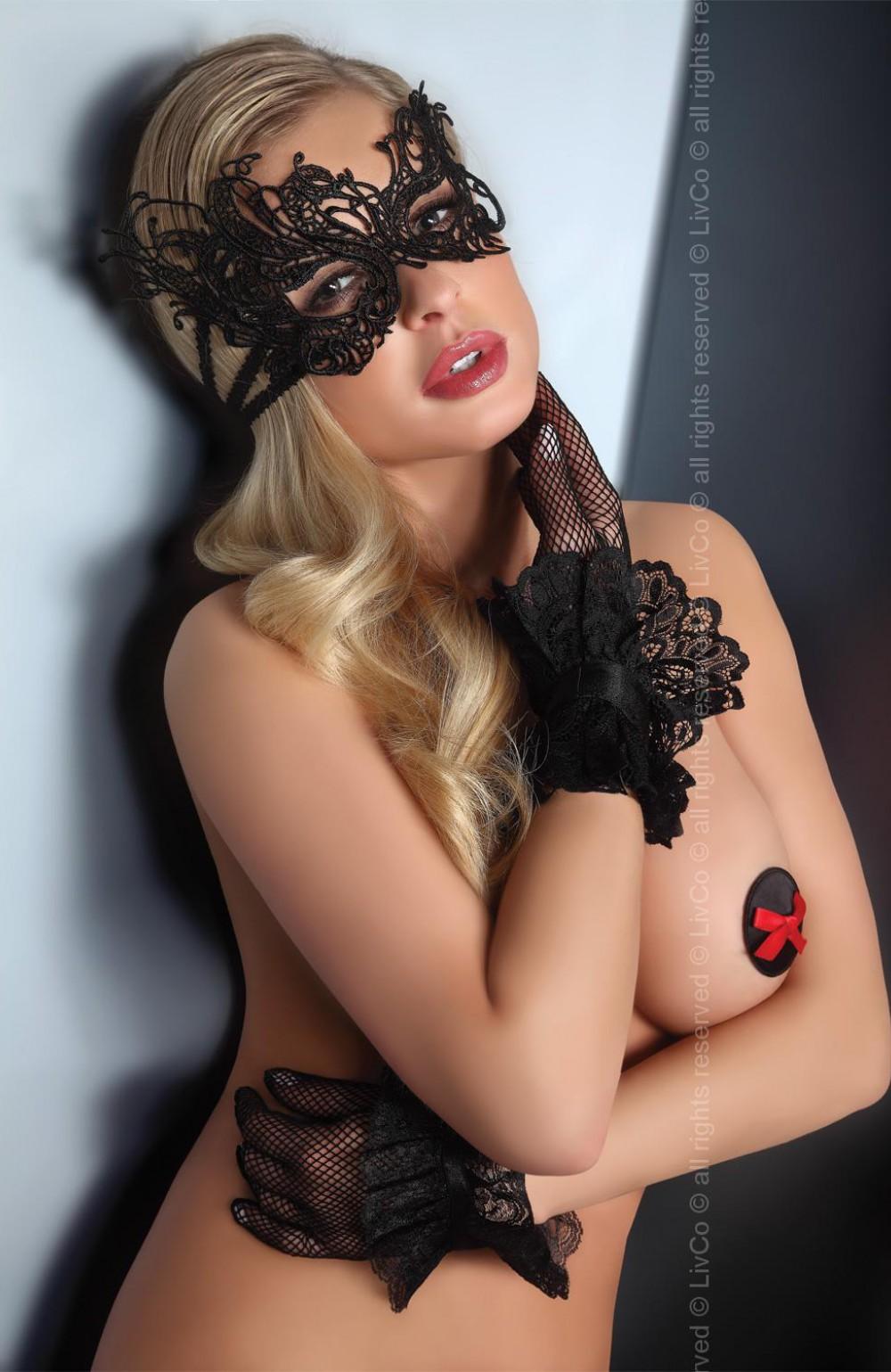 Эротическая маска на лице 22 фотография