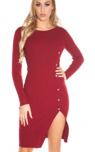Forever Sexy - KO1718 Seamless Sweater Dress