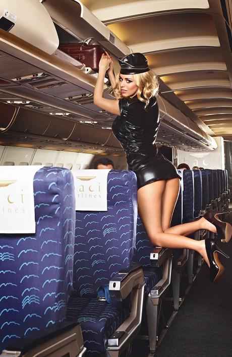 Baci 1218 Sexy Stewardess Sassystar