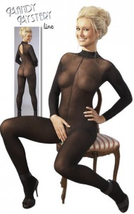 Cottelli Collection - 2300570000 Sexy Crotchless Bodystocking