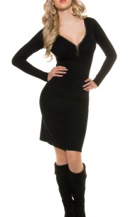 Forever Sexy - ISF8725 Sexy Sweater Dress