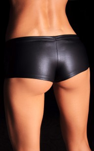 7heaven - Emilie Black Super Sexy Stretchy Black Shorts