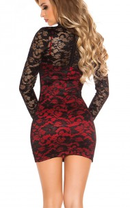 Forever Sexy - IN50152 Sexy Dress with lace