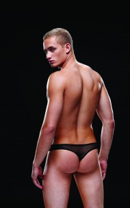 Envy - BEV032 Sequin Low-Rise Thong