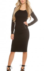 Forever Sexy - DZ-9598 Sexy Sweater Dress