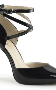 Pleaser - AMUSE-25 Hidden Platform D'Orsay Pump