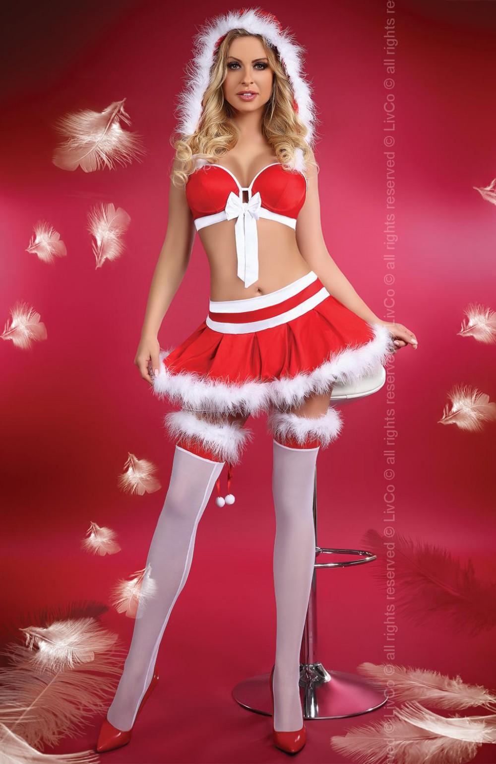 Эротическое костюм новогоднее 4 фотография