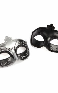 50 Shades of Grey - Masquerade Mask Twin Pack